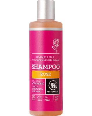 Rose shampoo normalt hår 250 ml