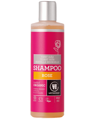 Rose shampoo tørt hår 250 ml