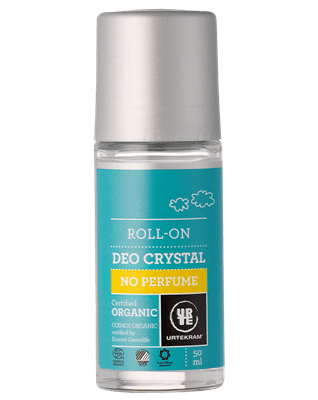 Urtekram Parfumefri deokrystal roll-on øko 50 ml