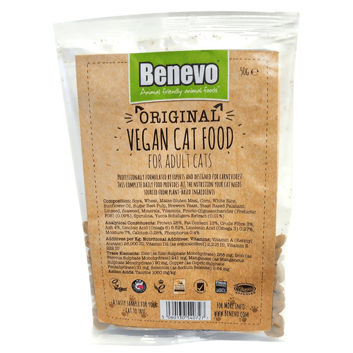 Benevo Cat Original - Kattemad, Portion Bag / Tester 50g