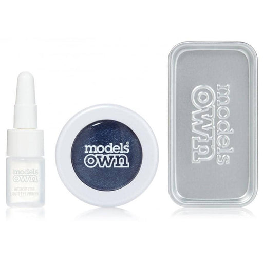 Models Own Colour Chrome Eyeshadow Kit - Ultramarine - GreenOS.dk - GreenOS.dk