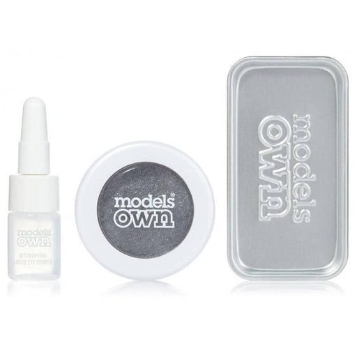 Models Own Colour Chrome Eyeshadow Kit - Gunmetal - GreenOS.dk - GreenOS.dk