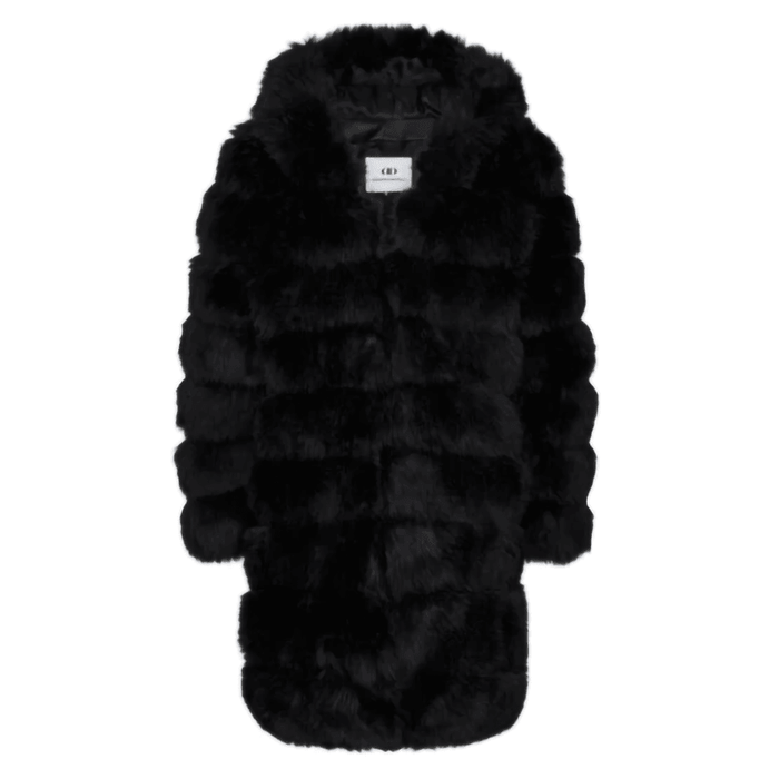 Di Dandanell, Coolwood Faux Fur jakke, Sort.
