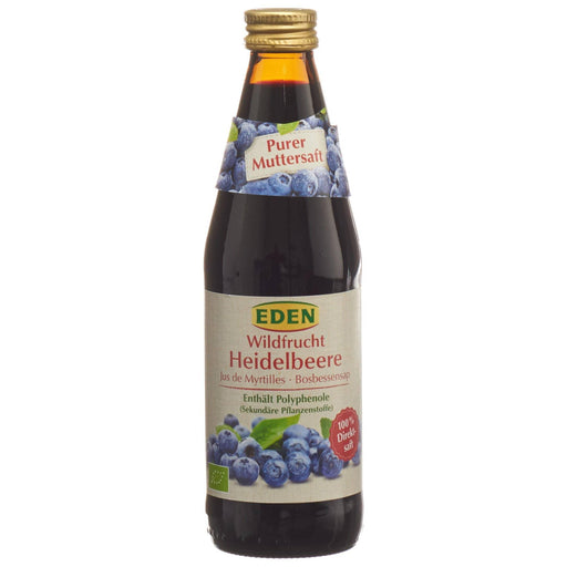 EDEN Blåbærsaft 330ml - greenos