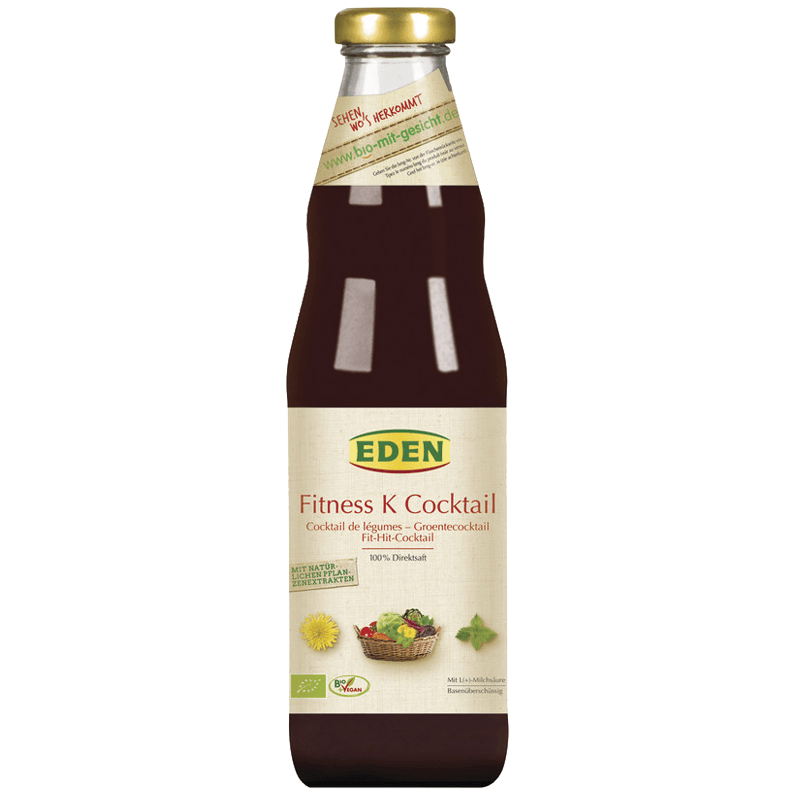 EDEN Fitness-K-Cocktail Saft, 750 mL. - GreenOS.dk