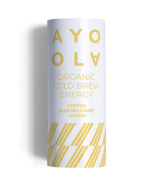 AYOOLA Cold Brew Coffee - Elderflower & Lemon, Økologisk 235ml - GreenOS.dk