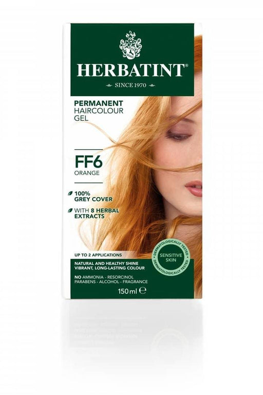 Herbatint FF6 Hårfarve, Orange. - greenos