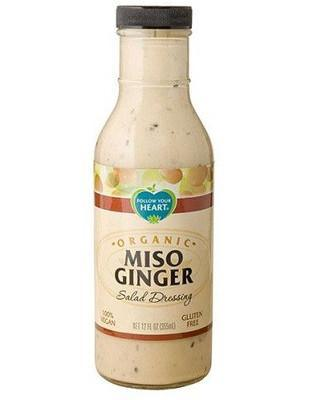 Follow Your Heart Dressing Miso Ginger, Økologisk 355 mL. - GreenOS.dk