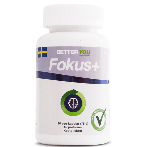 Better You - Fokus+ 90tab. - GreenOS.dk