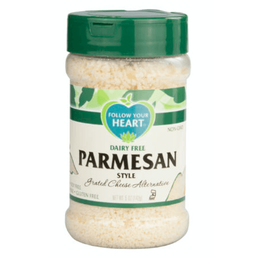 Follow Your Heart Vegansk Parmesan Alternativ, 142 g. - greenos