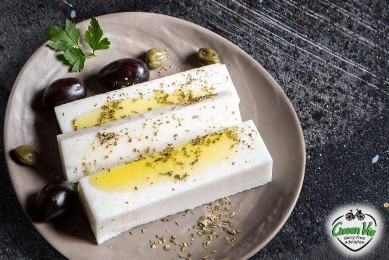GreenVie Greek Style - Vegansk Feta - 200g - GreenOS.dk