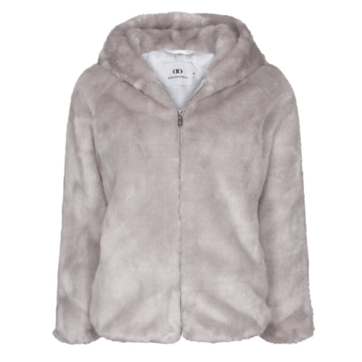 Di Dandanell,Richmond Faux Fur Jakke, Grey.