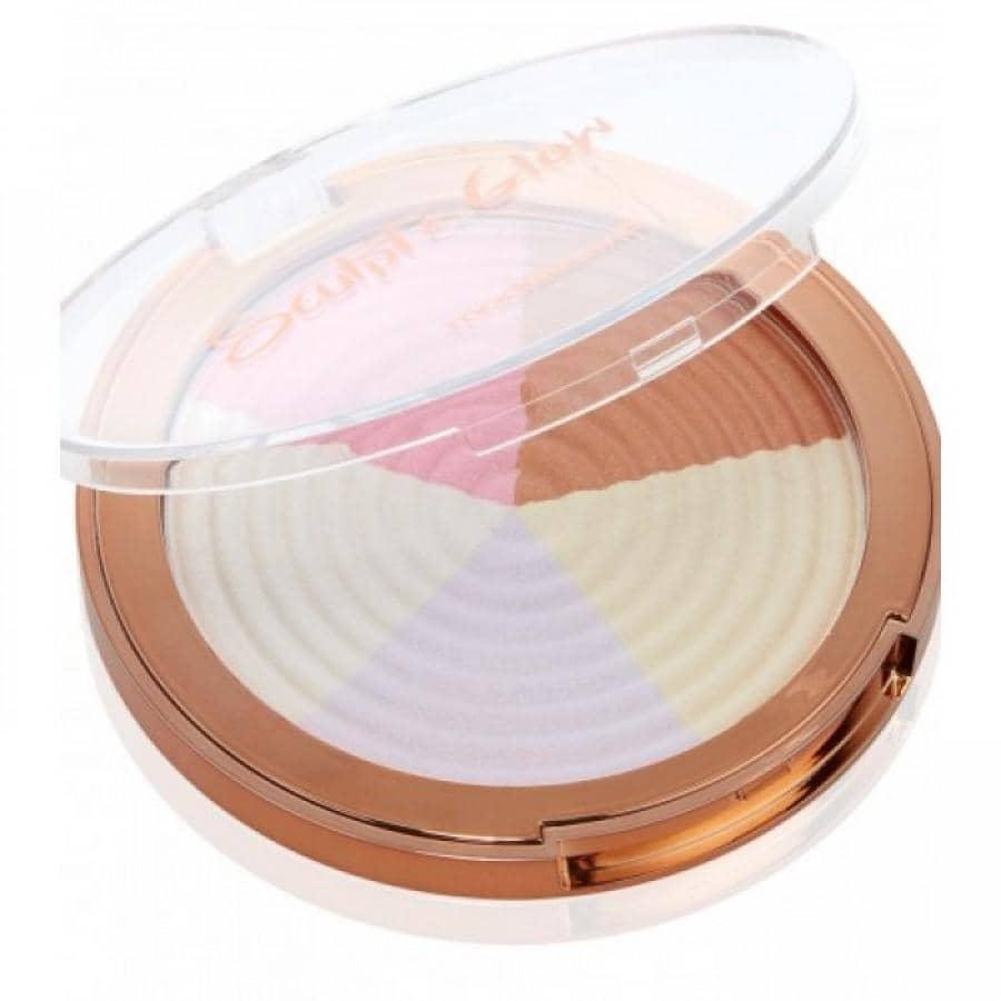 Models Own Sculpt & Glow Highlighter Powder - Strobe Light 09 - GreenOS.dk - GreenOS.dk