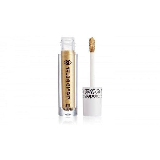 Models Own Liquid Metal Eyeshadow - Gold - GreenOS.dk - GreenOS.dk
