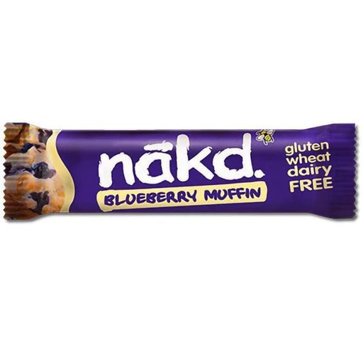 Näkd bar bluberry muffin 35g - Glutenfri
