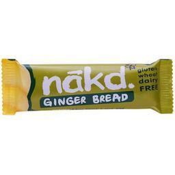 Näkd bar ginger bread 35g - Glutenfri