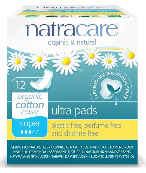 Natracare Ultra Bind Super m/vinger