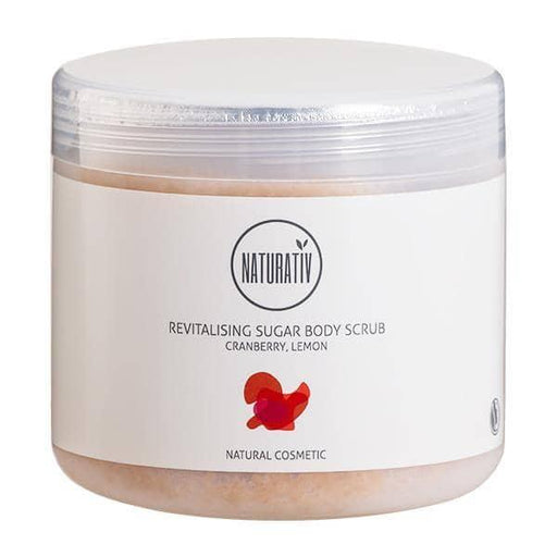 Naturativ Revitalising Sugar Body Scrub, 500 ml. - GreenOS.dk - GreenOS.dk