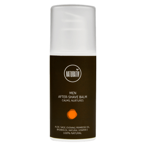 Naturativ Men´s Care Aftershave Balm, 50 ml. (Dato: 6/9-18)