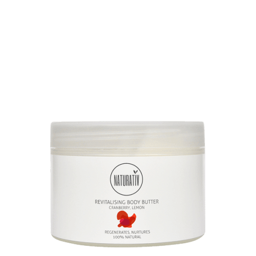 Naturativ Revitalising Body Butter, 250 ml. - GreenOS.dk