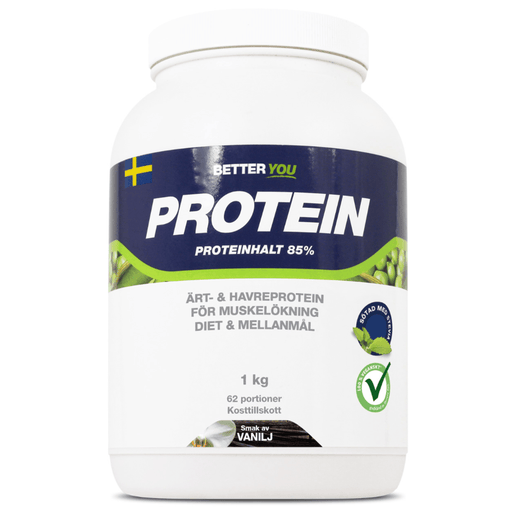 Better You - Havre Protein pulver, vanilje smag, 1000g.