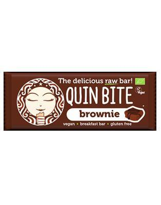 Quin Bite, Brownie bar, 30g