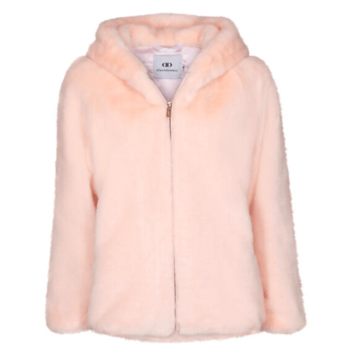 Di Dandanell,Richmond Faux Fur Jakke, Rose.