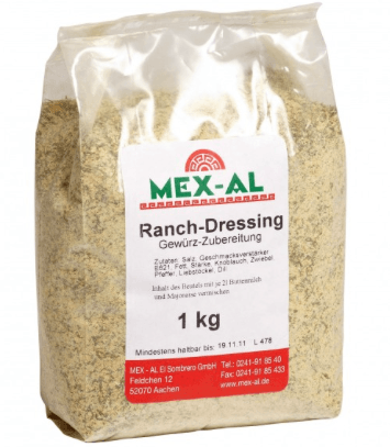 Mex-Al,Ranch Dressing Mix, 1000g