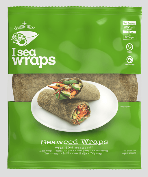 Seamore, I sea Wraps med 50% tang, 280g