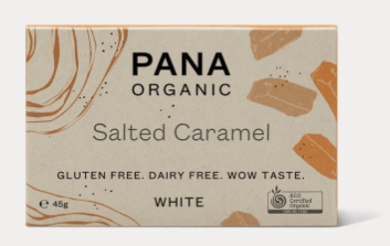 Pana Chocolate bar - Salted Caramel, øko 45g.