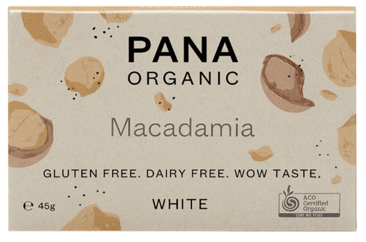 Pana Chocolate bar - Macadamia, øko 45g.