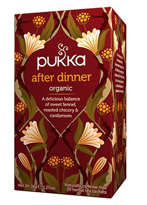 Pukka After Dinner Te, 20 breve
