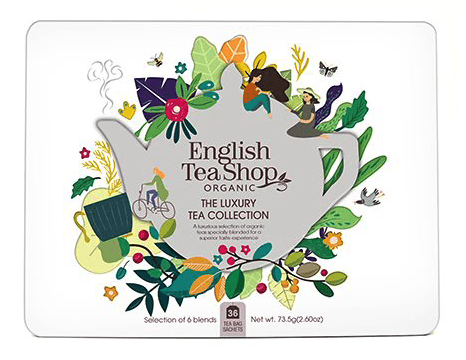 English Tea Shop, Te Gaveæske Luxury Tea Collection, øko 36stk
