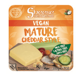 Bute Island Sheese Mature Cheddar style - 200 g - GreenOS.dk