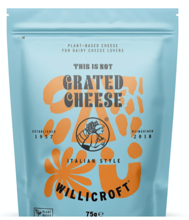 Willicroft- This is not Grated Cheese-Italian style 75 g - GreenOS.dk