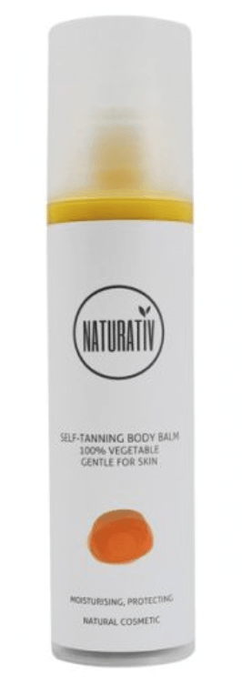 Naturativ SUN FUN - SELF-TANNING BODY BALM, 200 ml. - GreenOS.dk