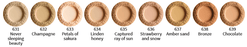 Uoga Uoga Foundation/Contouring powder, TESTER Bronze, SPF 15 - GreenOS.dk