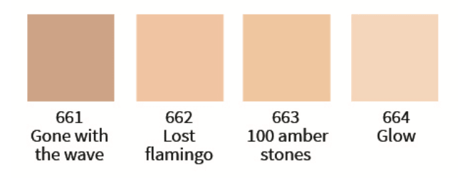 Uoga Uoga Cream Foundation, Lost Flamingo nr. 662, 30 ml - greenos