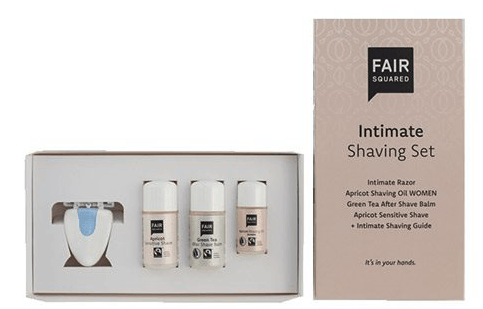 FAIR SQUARED Intimate shaving set. 1 stk