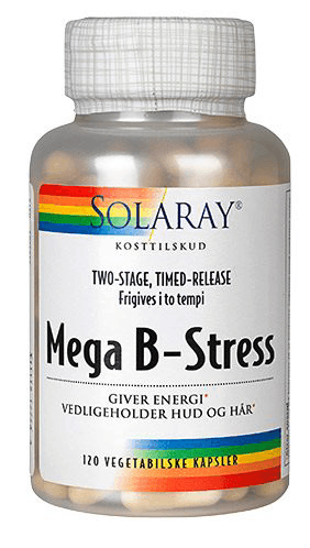 Solaray Mega B-Stress, 120stk