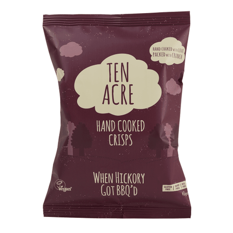 Ten Acre Hickory BBQ Chips, 40 g.