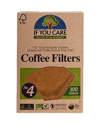 If You Care, økologisk coffee filter, 100 stk - GreenOS.dk
