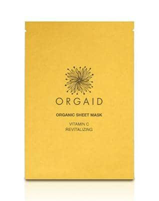ORGAID - Vitamin C & Revitalizing Organic Sheet Mask - greenos