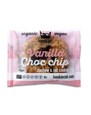 Kookie Cat, Vanilje-Chocolade Chip Crisp, 50 g