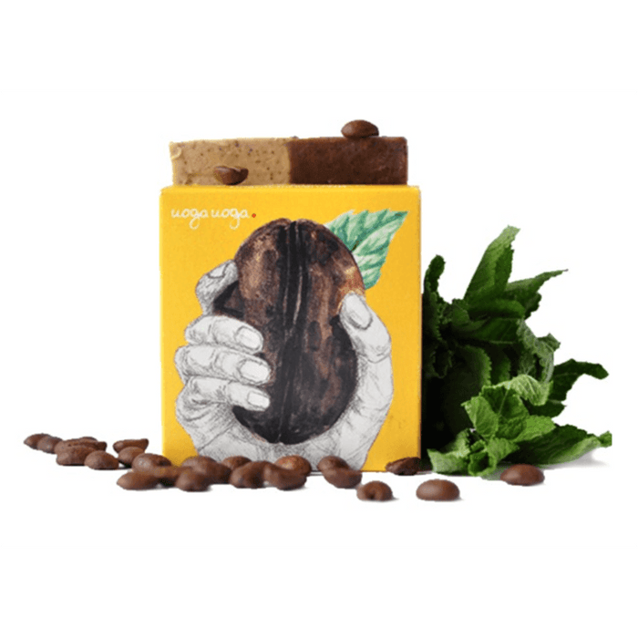 Uoga Uoga Care for Coffee Sæbebar , 100 g - greenos