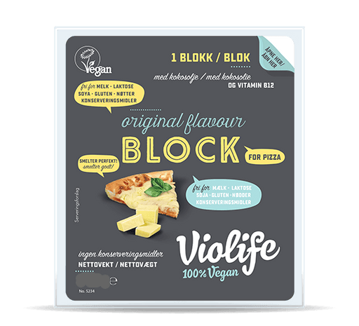 Violife Original Blok til Pizza, 400 g