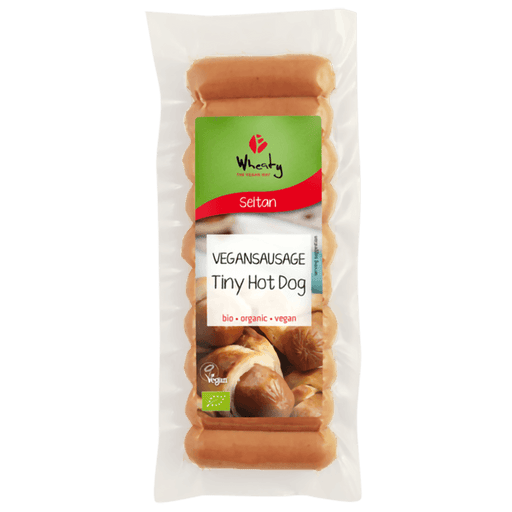 Wheaty Mini Hot Dogs / Cocktailpølser, Økologisk 200 g - greenos