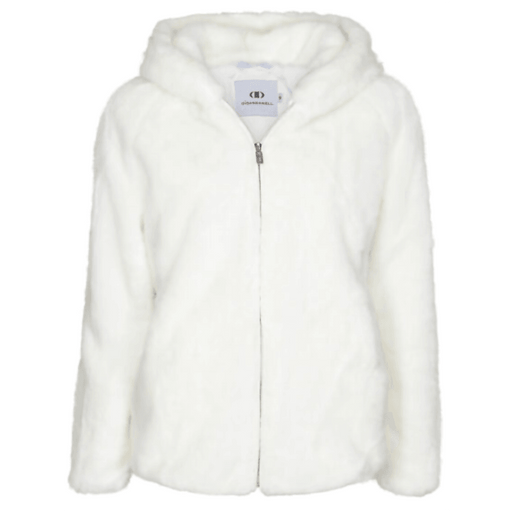 Di Dandanell,Richmond Faux Fur Jakke, White.
