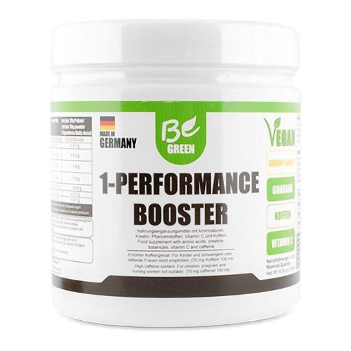 Be Green 1-Performance Booster - 400 g - GreenOS.dk - GreenOS.dk