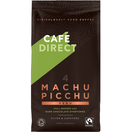 Café Direct Machu Picchu Kaffe, Fairtrade 227g - GreenOS.dk - greenos
